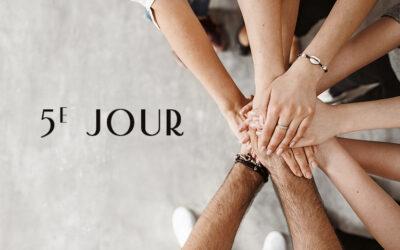 La Semaine de prière pour l'unité des chrétiens – 5ᴱ Jour